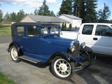1929 Ford Model A Blue George F