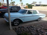 1962 Ford Galaxie Baffin Blue White Tom Ulrich