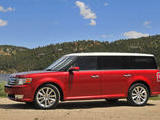 2009 Ford Flex Cherry Red Neo M