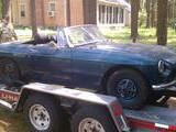 1973 MG MGB Blue Michael Caputo