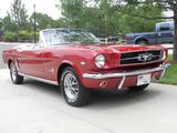 1965 Ford Mustang Red Mark Vining